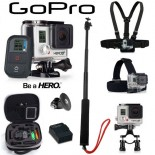 Caméra GoPro HD Hero3+ Black Edition Pack PREMIUM""