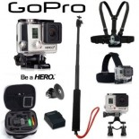 Caméra GoPro HD Hero3+ Silver Edition Pack PREMIUM""