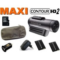 Caméra sport Contour HD Plus + GPS Version 2 MAXIPACK