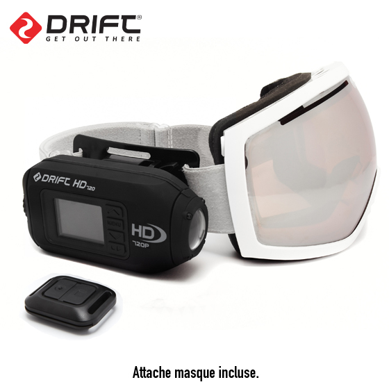 nouvelle camera drift hd masque