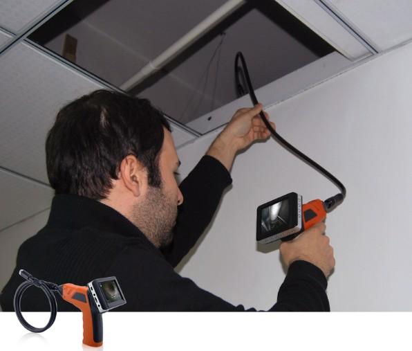 Cam ra d 39 inspection snake eye - Camera inspection canalisation ...