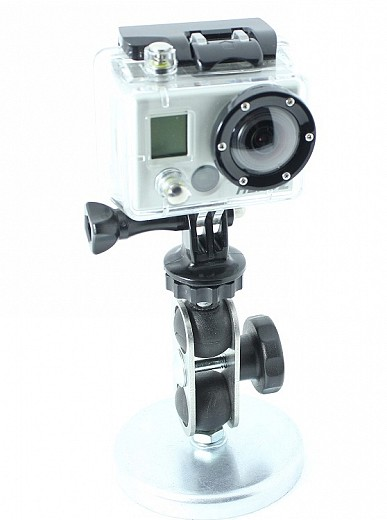 fixation aimant pour camera gopro