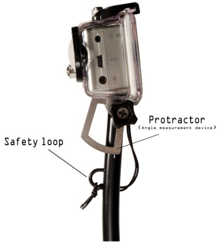 fixation backy mount gopro hd