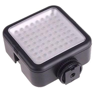 projecteur avec batterie  64 leds 480 lumens