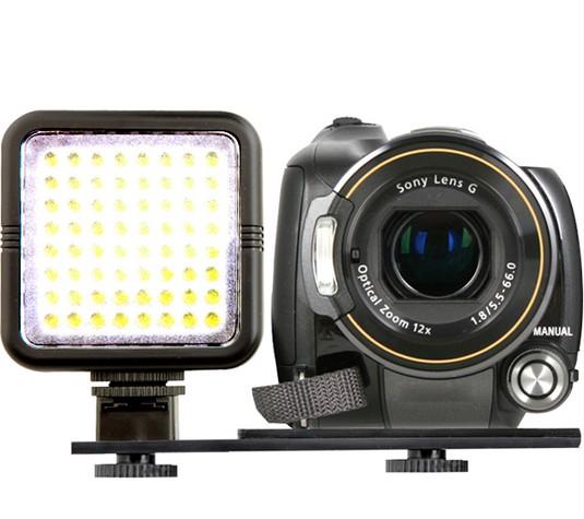 projecteur pour camera 64 leds 480 lumens