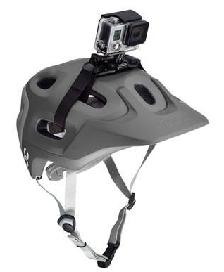 Fixation caméra sur casque VTT & Vélo