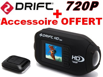 Cam�ra sport Drift HD 720P