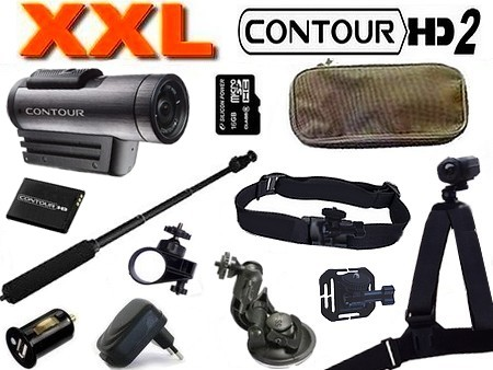 Cam�ra sport Contour HD Plus + GPS Version 2 XXL