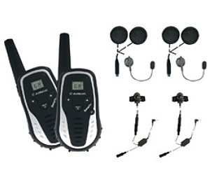 Set de communication audio sans fil longue port�e pour motards