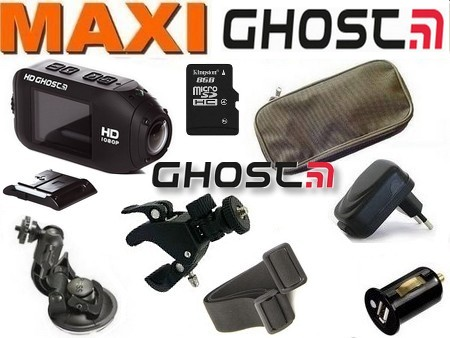 Cam�ra sport Drift HD GHOST WIFI MAXIPACK