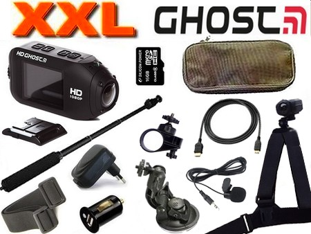 Cam�ra sport Drift HD GHOST WIFI Pack XXL