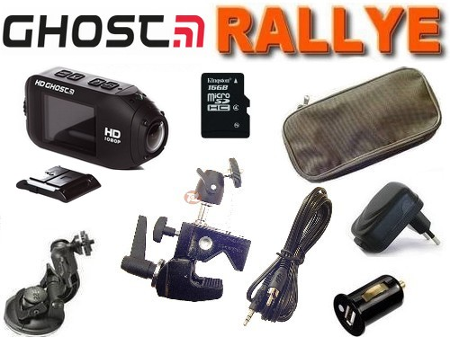 Cam�ra sport Drift HD GHOST WIFI Pack RALLYE