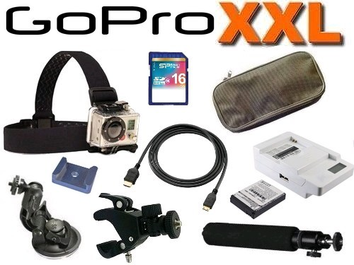 **EN RUPTURE** Cam�ra embarqu�e GoPro HD Hero 2 Pack XXL
