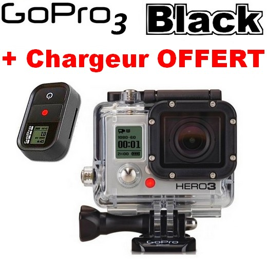 Cam�ra GoPro HD Hero 3 Black Edition 12MP