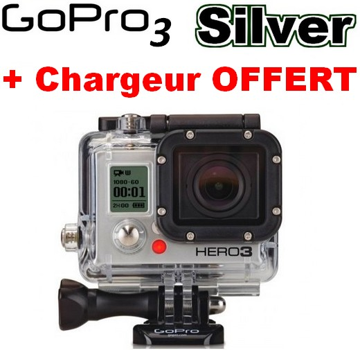 Cam�ra GoPro HD Hero 3 Silver Edition 11MP