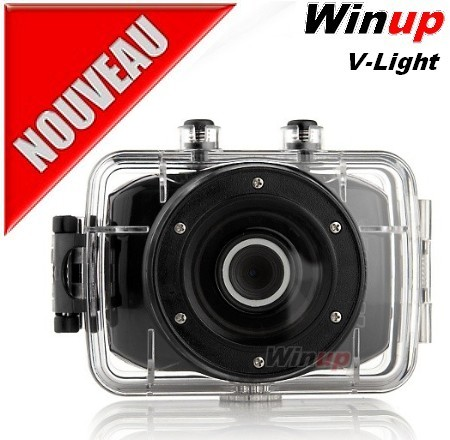 Cam�ra embarqu�e WINUP V-Light