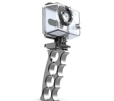 Fixation EASY TAKE ALU pour GoPro